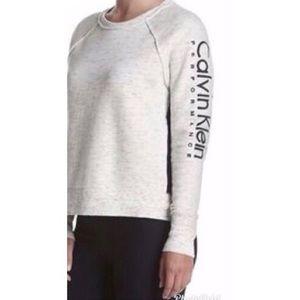 Calvin Klein Performance Embroidered Logo Pullover